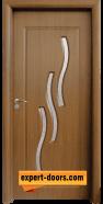Интериорна врата модел 014, цвят Златен дъб
