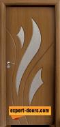 Интериорна врата модел 033, цвят Златен дъб