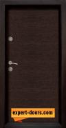 Блиндирана входна врата модел Ale Door 403 панел Wenge