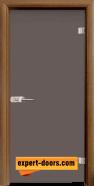 Стъклена интериорна врата Basic G 10-1, каса Златен дъб