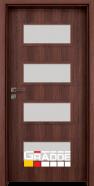 Интериорна врата Gradde Blomendal, Шведски дъб
