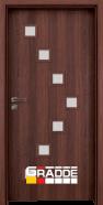 Интериорна врата Gradde Zwinger, цвят Шведски дъб