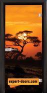 Print G 13-17 African Sunset B