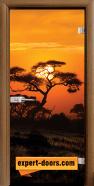 Print G 13-17 African Sunset C