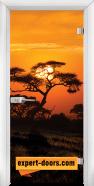 Print G 13-17 African Sunset W